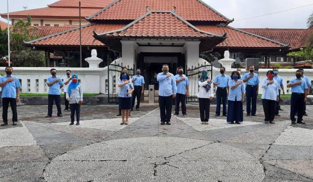 Apel dan Silaturahmi Hari Raya Idul Fitri 1441 H Pegawai Museum Sonobudoyo