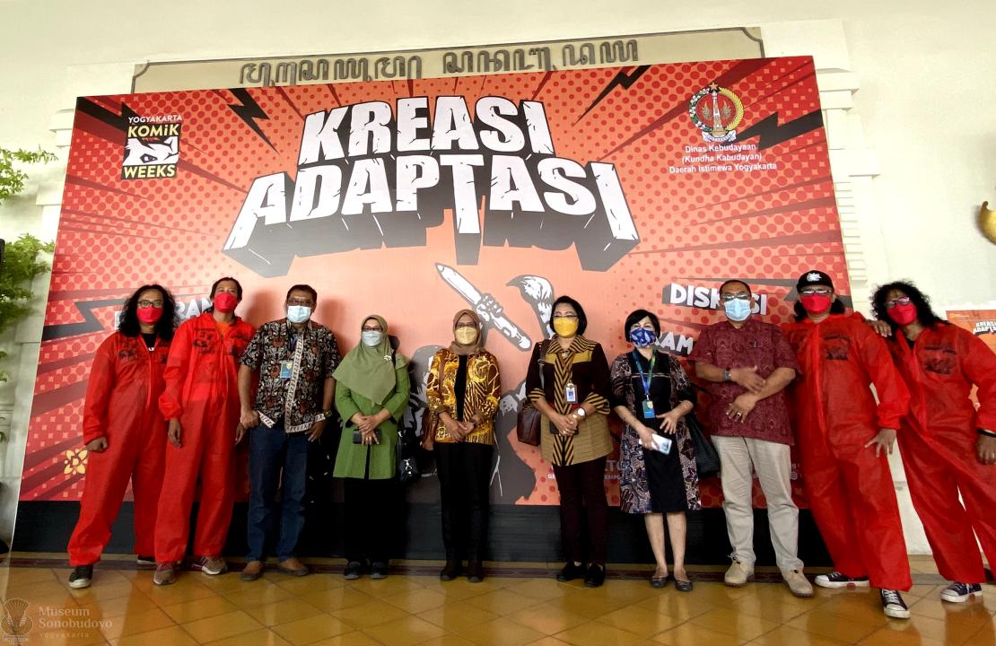 Pameran Komik Weeks Kreasi Adaptasi, di Gedung Pameran Temporer Sonobudoyo