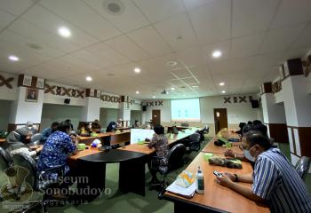 Kunjungan DPRD Jawa Timur dan Dinas Pariwisata Jawa Timur ke Sonobudoyo
