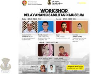 Kegiatan Workshop Pelayanan Disabilitas di Museum